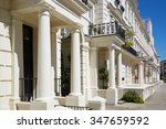 White Luxury Houses Facades In...