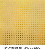 many gold stars on brown paper... | Shutterstock . vector #347721302