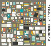 infographics elements. big set... | Shutterstock .eps vector #347754662