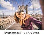 Beautiful Couple Taking Selfie...