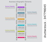 modern business banner. vector... | Shutterstock .eps vector #347798045