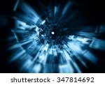 3d futuristic background  | Shutterstock . vector #347814692