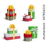 set collection of colorful...   Shutterstock .eps vector #347826212