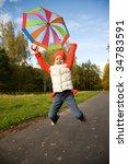 beautiful little girl with...   Shutterstock . vector #34783591