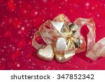 christmas decoration in shape a ... | Shutterstock . vector #347852342