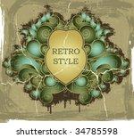 vintage label | Shutterstock .eps vector #34785598