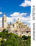 segovia  castile and leon  spain | Shutterstock . vector #34787314