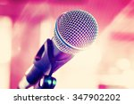 microphone for sound  music ... | Shutterstock . vector #347902202