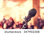 microphone for sound  music ... | Shutterstock . vector #347902208