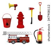 Firefighters Equipment Set....