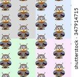 owl | Shutterstock .eps vector #347914715