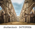 Internal View Of The Ruins Of...