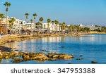 View Of Embankment At Paphos...