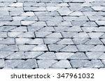 Brick Sidewalk  Made From Plai...