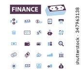 finance  bank  credit  savings  ... | Shutterstock .eps vector #347963138