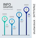 business info graphic | Shutterstock .eps vector #347976962