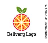 delivery logo vector template | Shutterstock .eps vector #347989175