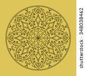 vector decorative element... | Shutterstock .eps vector #348038462