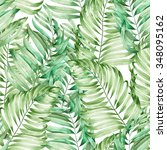 a seamless pattern with the... | Shutterstock . vector #348095162