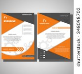 brochure flyer design layout...
