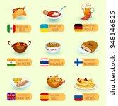 world food international... | Shutterstock .eps vector #348146825