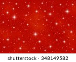 starry sky background for your... | Shutterstock .eps vector #348149582