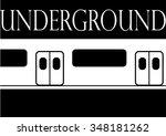 underground | Shutterstock .eps vector #348181262