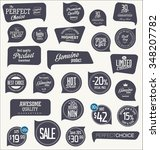 sale labels collection | Shutterstock .eps vector #348207782