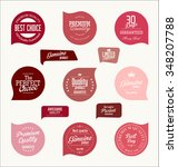sale labels collection | Shutterstock .eps vector #348207788