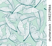 palm pattern | Shutterstock .eps vector #348219866