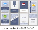 corporate identity vector... | Shutterstock .eps vector #348224846