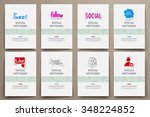 corporate identity vector... | Shutterstock .eps vector #348224852