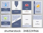 corporate identity vector... | Shutterstock .eps vector #348224966