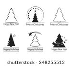 set of icons on a theme... | Shutterstock .eps vector #348255512