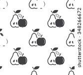 apple icon. | Shutterstock .eps vector #348266672