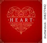 Heart Vintage Luxury Logo...