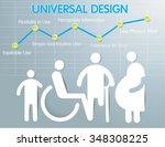 universal design vector 6 | Shutterstock .eps vector #348308225