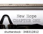 new hope chapter one  | Shutterstock . vector #348312812