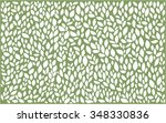 leaves abstract background | Shutterstock .eps vector #348330836