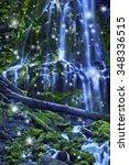 Magical Waterfall With Fairies...