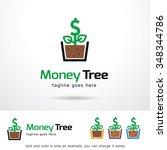 money tree logo template design ...