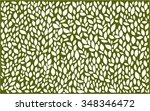 rustic leaves pattern | Shutterstock .eps vector #348346472