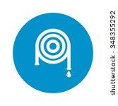 hose icon.  | Shutterstock .eps vector #348355292
