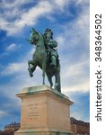 Statue Of Louis Xiv Near The...