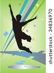 dance  vector illustration | Shutterstock . vector #34836970