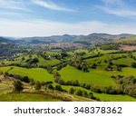 colorful panorama over the...