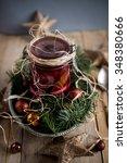 herring with beetroot | Shutterstock . vector #348380666