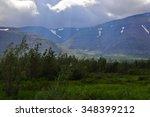 foothill taiga. putorana...   Shutterstock . vector #348399212