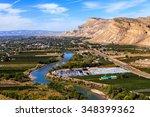 view of grand junction ... | Shutterstock . vector #348399362