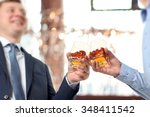 holiday event  business people... | Shutterstock . vector #348411542